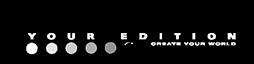 logo edition white